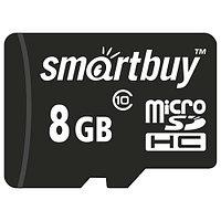 Micro SDHC 8GB карта памяти Smartbuy