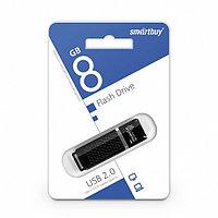 Диск накопительный USB Smartbuy  8GB Quartz Black