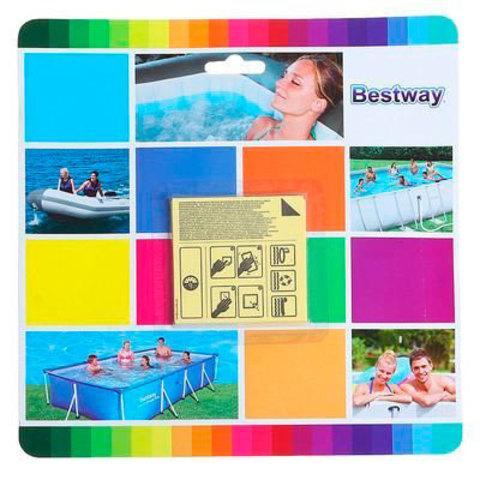 Ремонтный комплект водостойкий для бассейнов, надувных лодок, кругов Bestway 62091