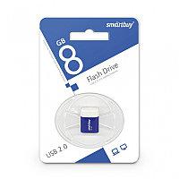 Диск накопительный USB Smartbuy  8GB Lara Blue