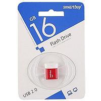 Диск накопительный USB Smartbuy 16GB Lara Red