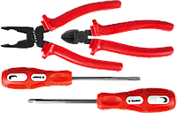 Набор слесарно-монтажный, 4 предмета в наборе, серия «ЭКСПЕРТ», ЗУБР