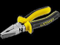 Плоскогубцы комбинированные, 180 мм, серия MASTER, STAYER