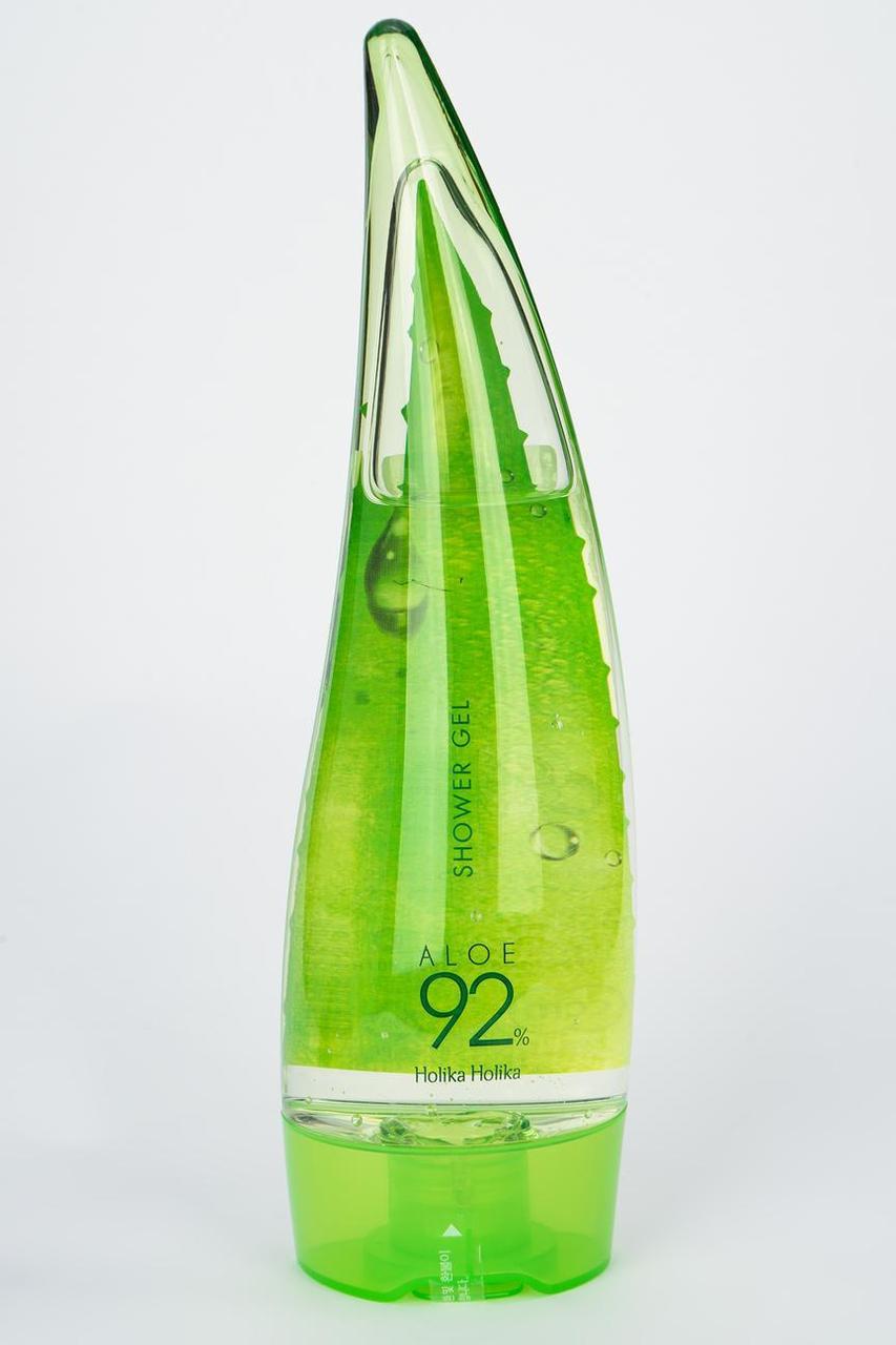 Гель для душа с алоэ вера Holika Holika Aloe  Shower Gel 92%  250 ml