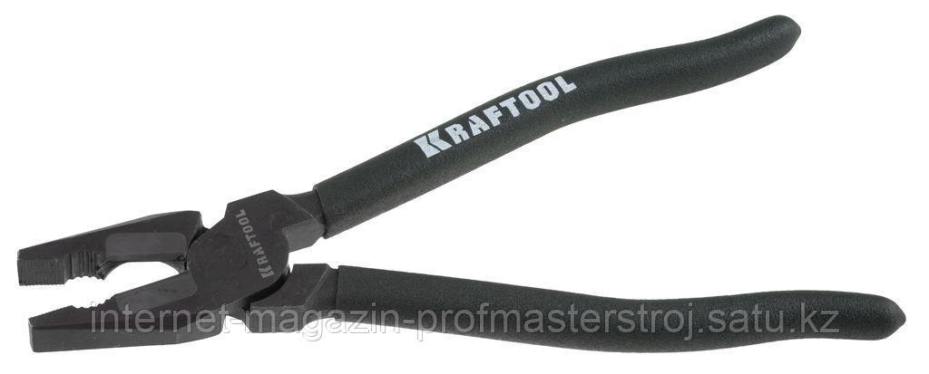 Плоскогубцы комбинированные, 220 мм, KARBMAX, KRAFTOOL