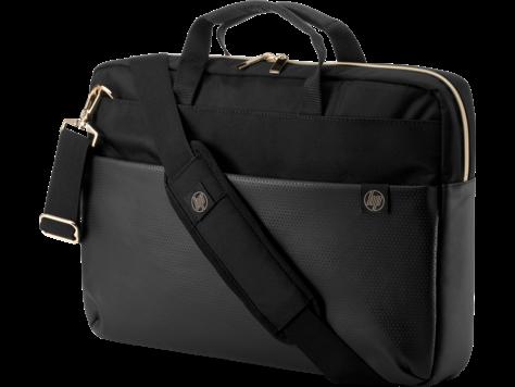 """HP 4QF94AA сумка для ноутбука Pavilion Accent 15,6"""" чер/зол"""