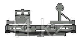 Toyota Hilux 2015-2021 Бампер Силовой Задний с калитками - T4
