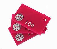 Акрил розовый-3MM(NO:100), фото 1