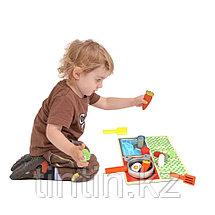Детская кухня-вкладыш, с продуктами, 30 х 22,4 см, фото 3