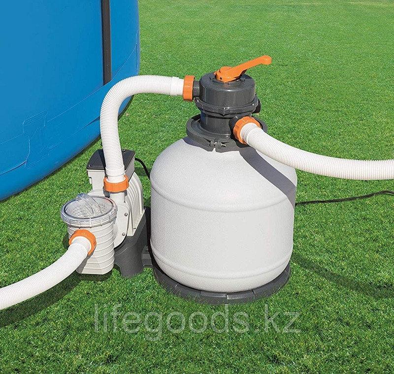 Песочный фильтр-насос для бассейна Bestway 58497, 5678 л/ч