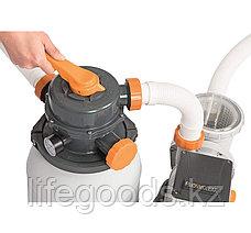 Песочный фильтр-насос для бассейна Bestway 58497, 5678 л/ч, фото 3