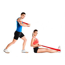 Эластичные ленты для фитнеса. Комплект из 3 штук, фото 3