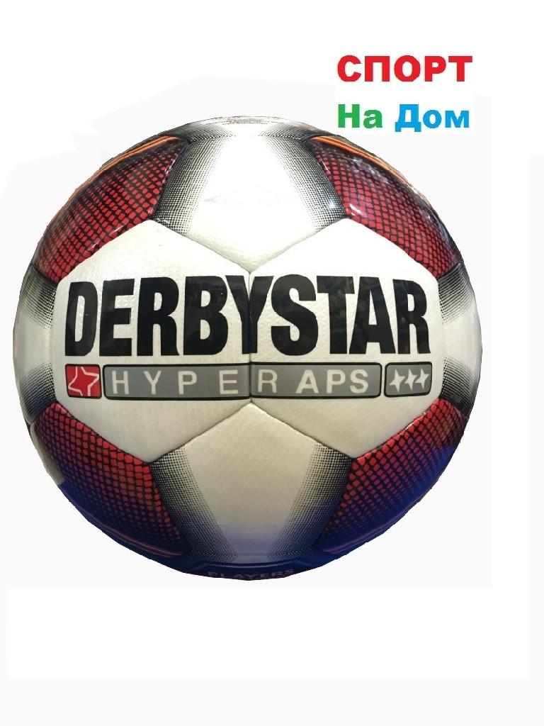 Футбольный мяч Derbystar Hyper APS (бело-красно-зеленый)