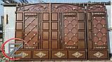 Ворота металлические филенчатые, фото 3