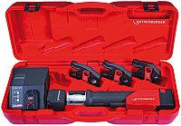 Пресс-фитинг Rothenberger Romax Compact в пластмассовом ящике с клещами M 15-22-28 мм