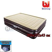 Надувной матрас Bestway 67597, Pavillo Cornerstone Airbed, размер 203x152x43 см, фото 1