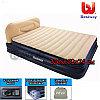 Двухместная надувная кровать Bestway 67483, Soft-Back Elevated Queen, 226x152x74 см, с насосом