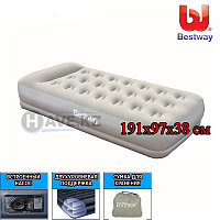 Надувной матрас-кровать, Bestway 67455, размер 97х191х38 см, фото 1