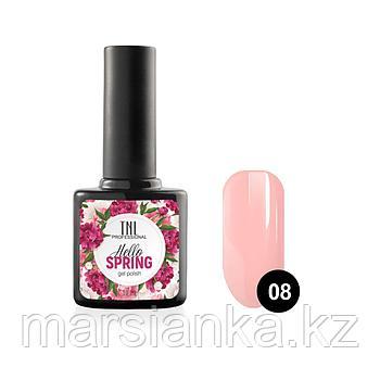Гель-лак TNL Hello Spring #08 дымчато розовый, 10мл