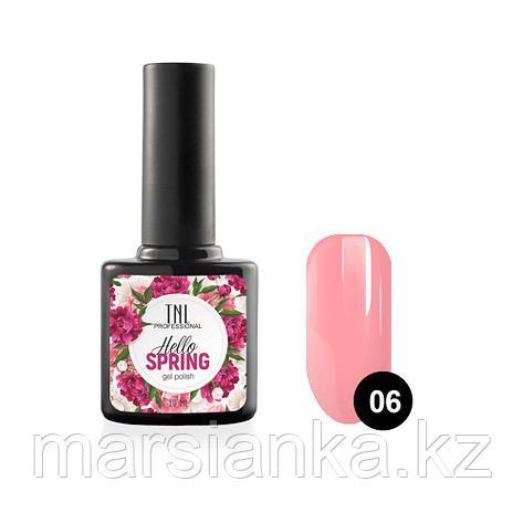 Гель-лак TNL Hello Spring #06 розовый, 10мл, фото 2