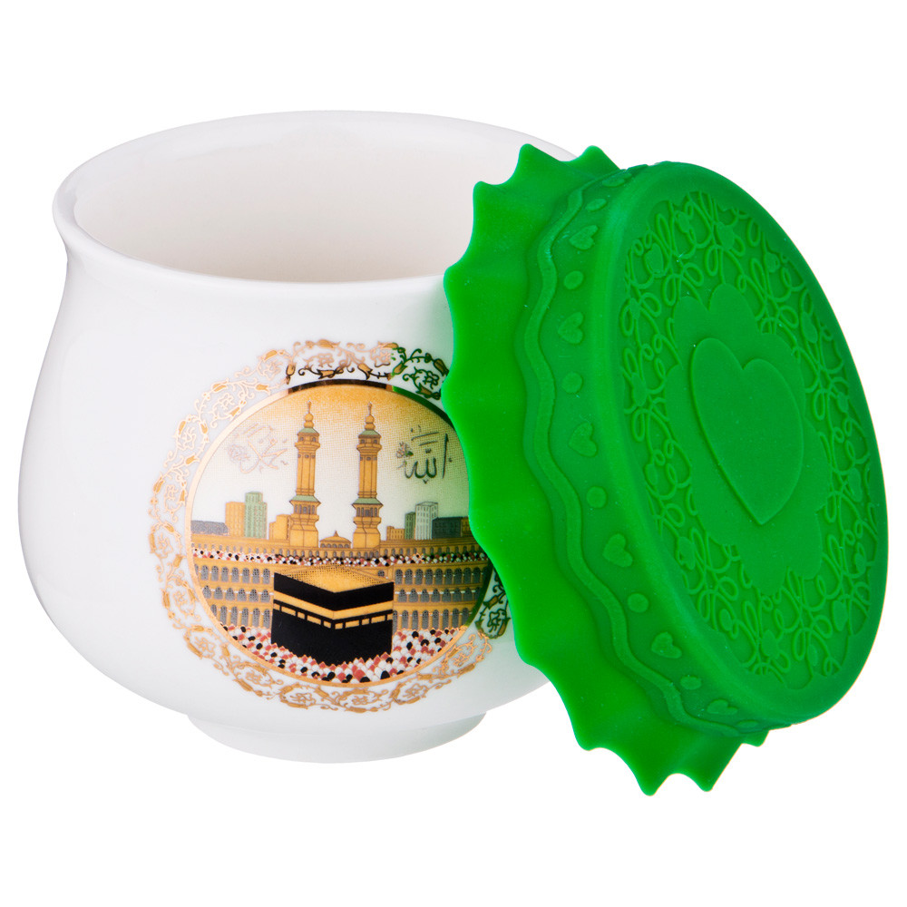 """Баночка для меда/варенья Lefard с силиконовой крышкой """"Сура"""" 180 мл"""