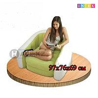 Надувное кресло, Intex 68571, размер 97х76х69 см, в ассортименте , фото 1