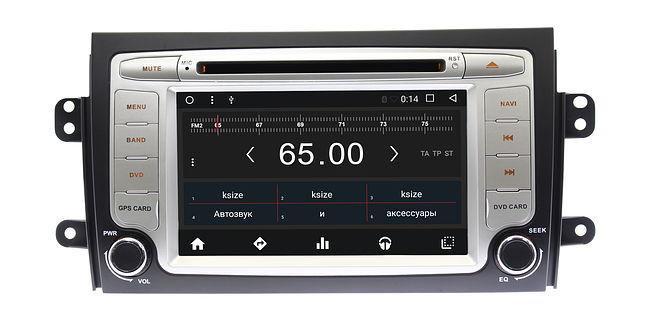 Штатная магнитола Autoline Suzuki SX4 2006 +