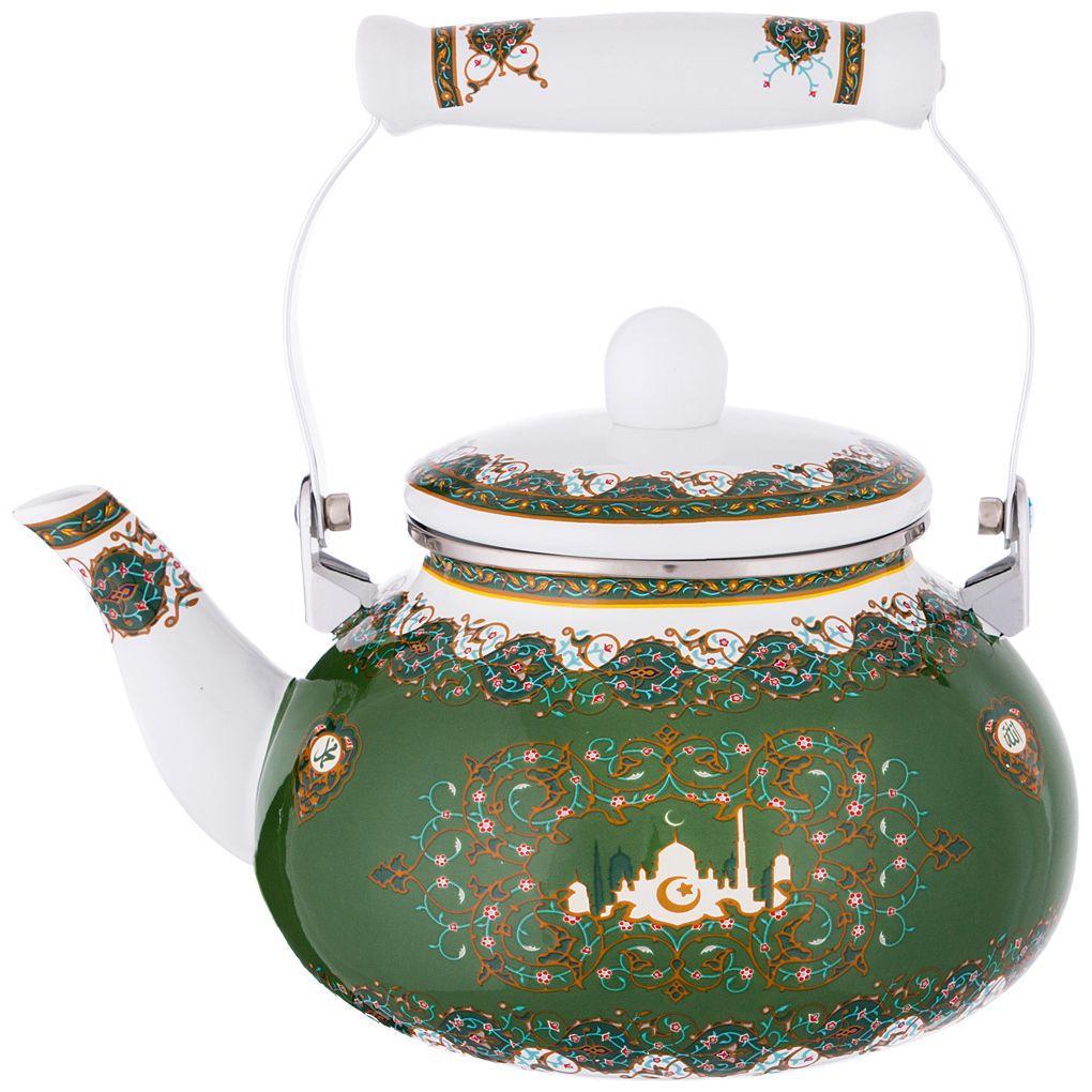 Чайник эмалированный Agness 2,5 л.