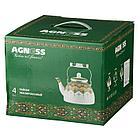 Чайник эмалированный Agness 4 л., фото 2