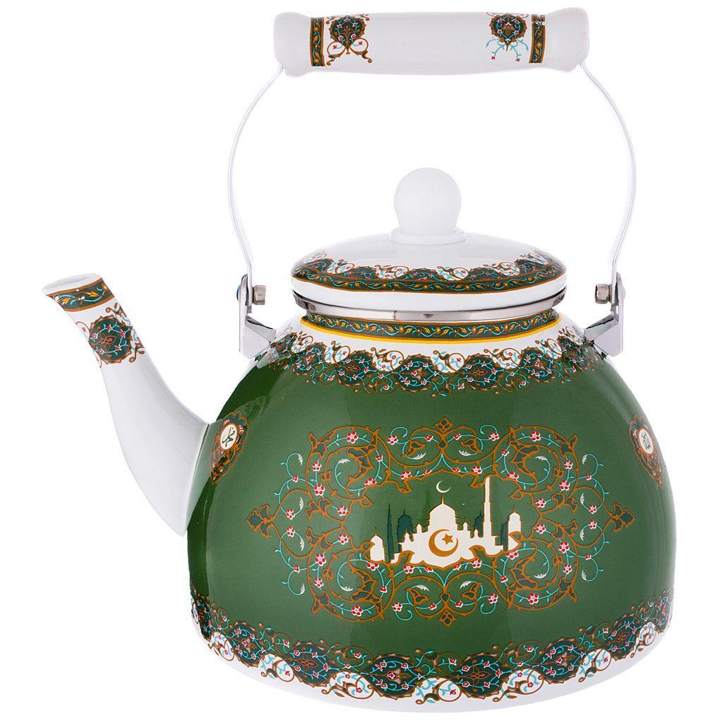Чайник эмалированный Agness 4 л.
