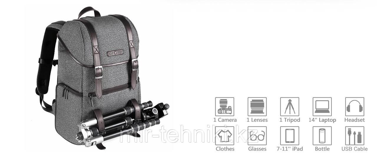 K&F Concept DSLR Camera Travel Backpack (KF13.080)