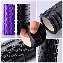 Массажный ролик(цилиндр) 61 см для спины и фитнеса, фото 2