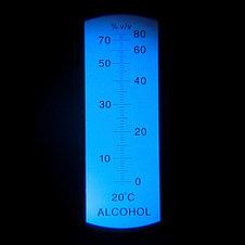 Рефрактометр для спиртных напитков (RHW-80 АТС), фото 3