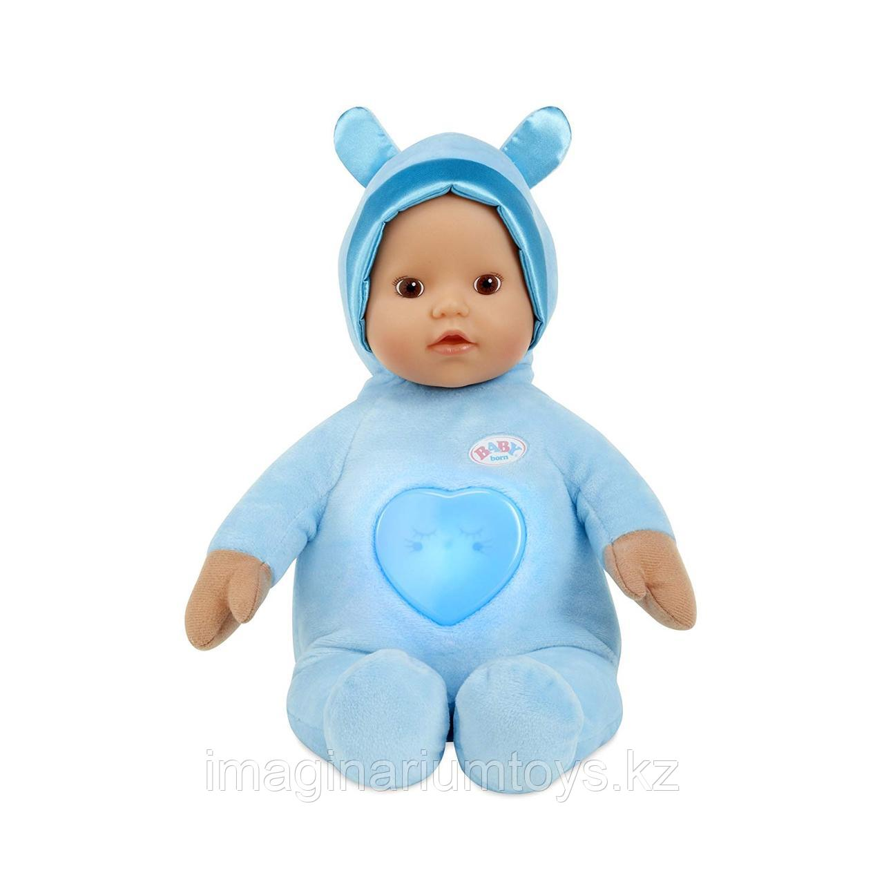 Кукла Беби Борн интерактивная Baby Born для малышей 0+ в голубом цвете