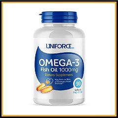 Uniforce Omega-3 1000mg 90 caps