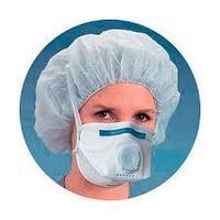 Респираторы-маски FFP3 и FFP2 медицинские, противотуберкулезные с выпускным клапаном