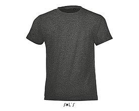 Детская футболка Regent Fit Kids | Sols | Charcoal melange