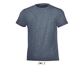 Детская футболка Regent Fit Kids | Sols | Heather denim