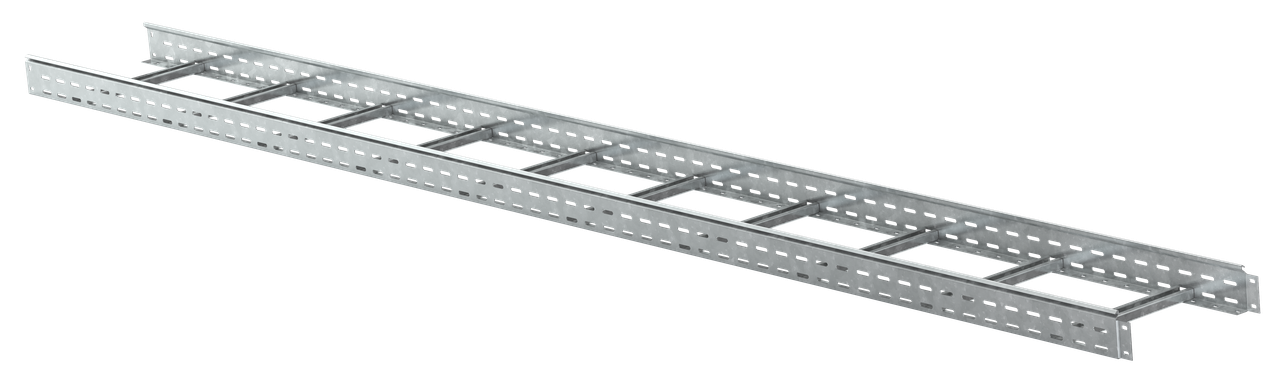 Лоток лестничный 50х500х3000, 1,5 мм