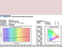 Rosco E185 COSMETIC BURGANDY светофильтр, фото 1
