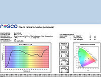 Rosco E203 QUARTER CT BLUE светофильтр, фото 1