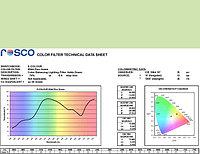 Rosco E244 PLUS GREEN светофильтр, фото 1