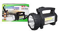 Ручной аккумуляторный светодиодный фонарь с боковым освещением SS 5918