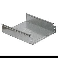 Лоток неперфорированный 100×400×3000; 1,2 мм