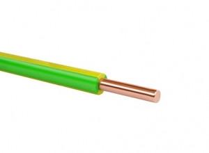 Провод  ПВ3- 4 желто-зеленый  0,45 кВ (200)   ГОСТ
