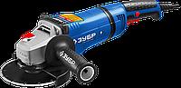 Углошлифовальная машина (болгарка), ЗУБР УШМ-П150-1400 в, система АВТ, пылезащита, 150мм, 9000 об/мин, 1400 Вт