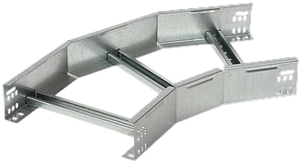 Поворот лестничный на 45 гр. 50х400 R300 HDZ IEK