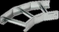 Поворот лестничный на 45 гр. 80х300 R300 HDZ IEK