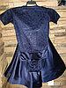 Комплект боди гипюр+юбка, рукав 1/4 (32 размер)