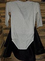 Комплект боди гипюр+юбка, рукав 3/4 (32 размер), фото 1